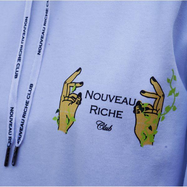 HOODIE_AIR_QUOTES_BRAND_NOUVEAU_RICHE_CLUB_HOOD_LOGO